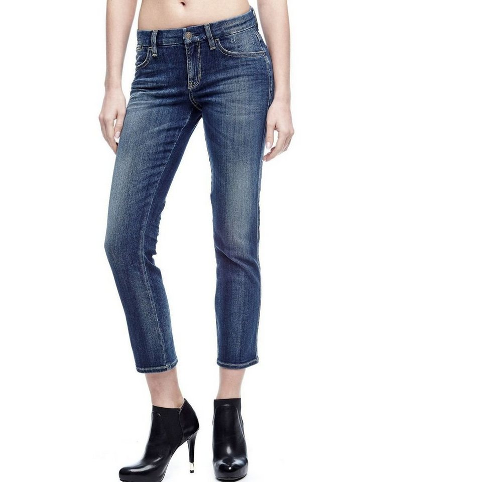 Guess SHAPE-UP-JEANS SKINNY in Blau