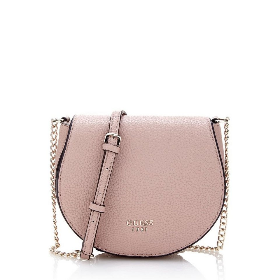 Guess UMHÄNGETASCHE MIT KETTE CATE in Rose