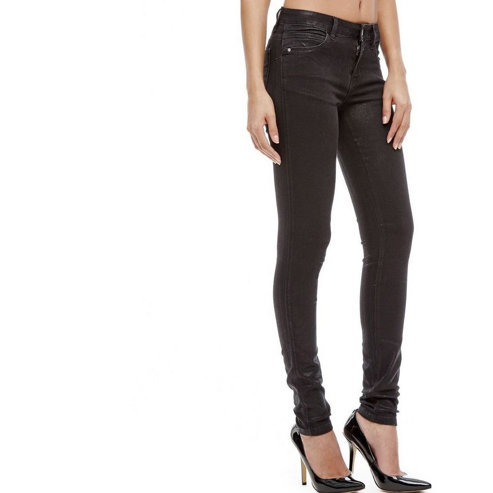 Guess JEANS SKINNY CURVE X in Schwarz