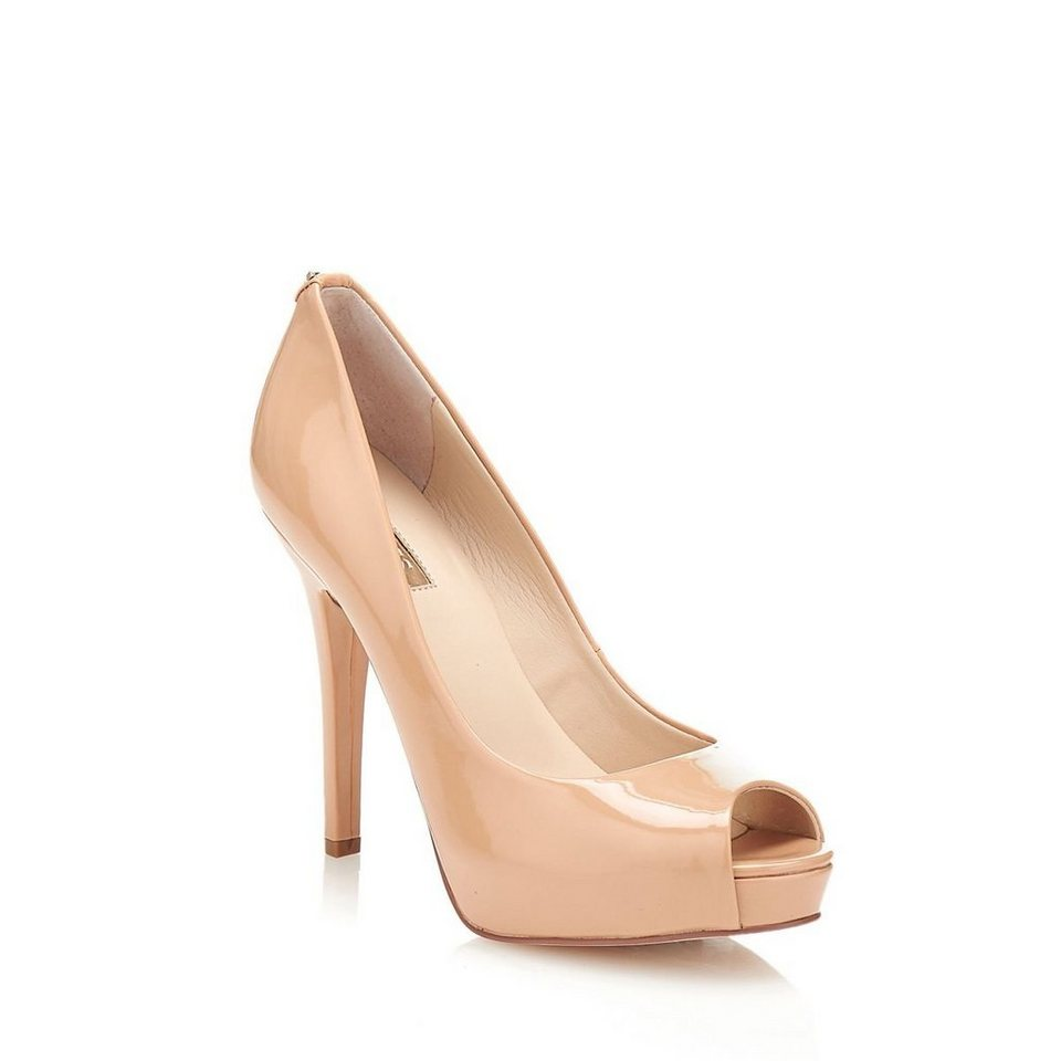 Guess PEEPTOE HEDDY2 AUS LACK in Rose
