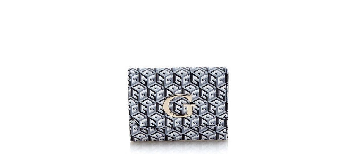 Guess Logo-Portemonnaie G Cube