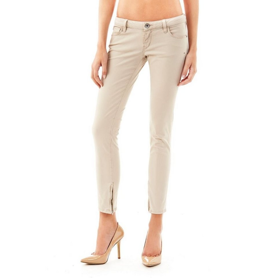 Guess Hose »Skinny Ultra Low Sunny Stretch« in Beige