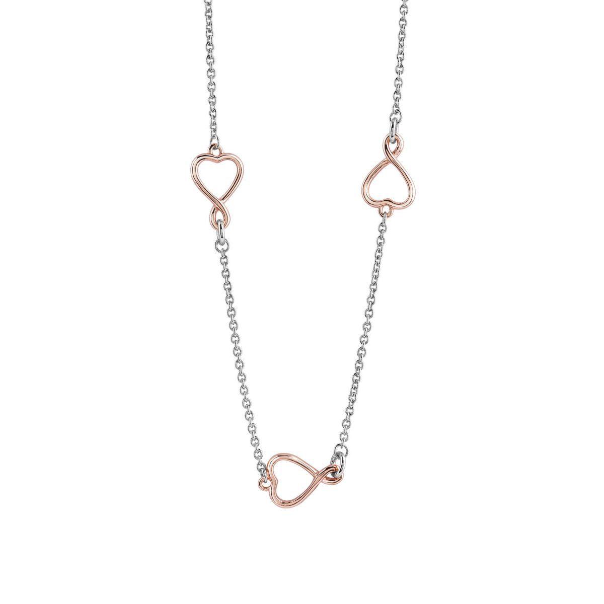 Guess Lange Halskette Herzen Amour