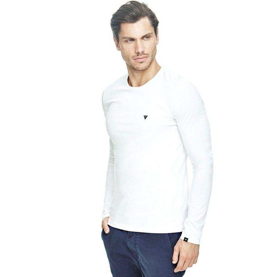 Guess T-Shirt aus Baumwolle in Weiß