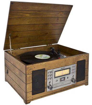 Karcher Nostalgie-Musikanlage mit Plattenspieler »NO-038«