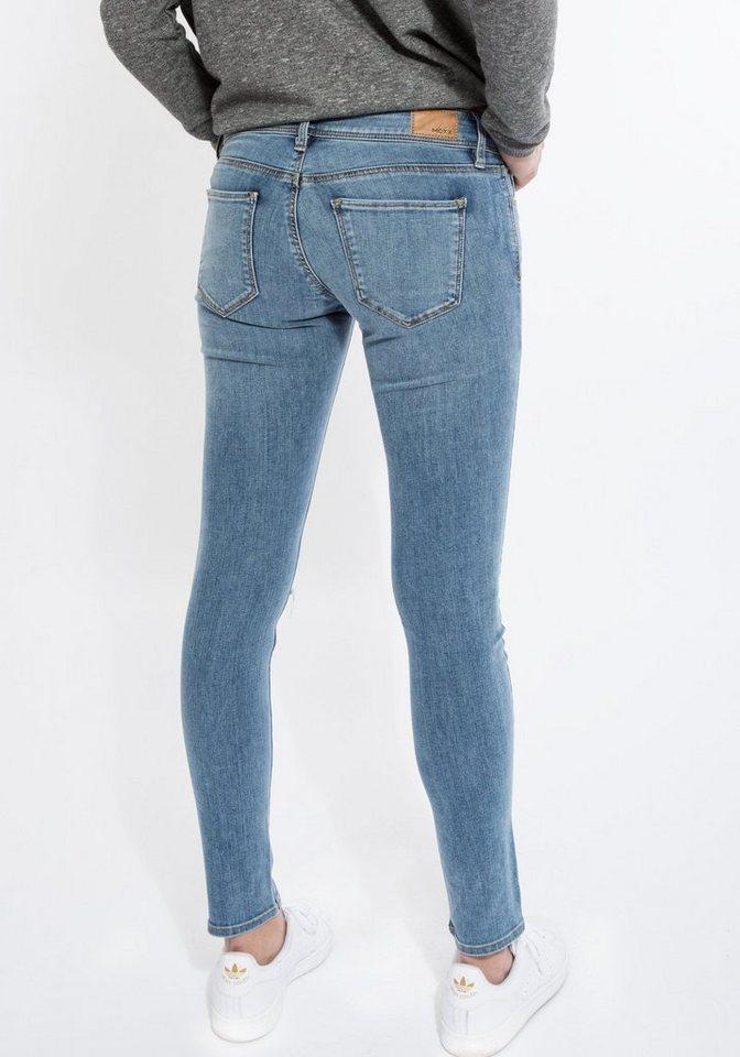Mexx Skinny-fit-Jeans Busted Knee in hellblau