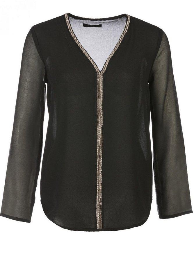 Colins Shirtbluse in schwarz