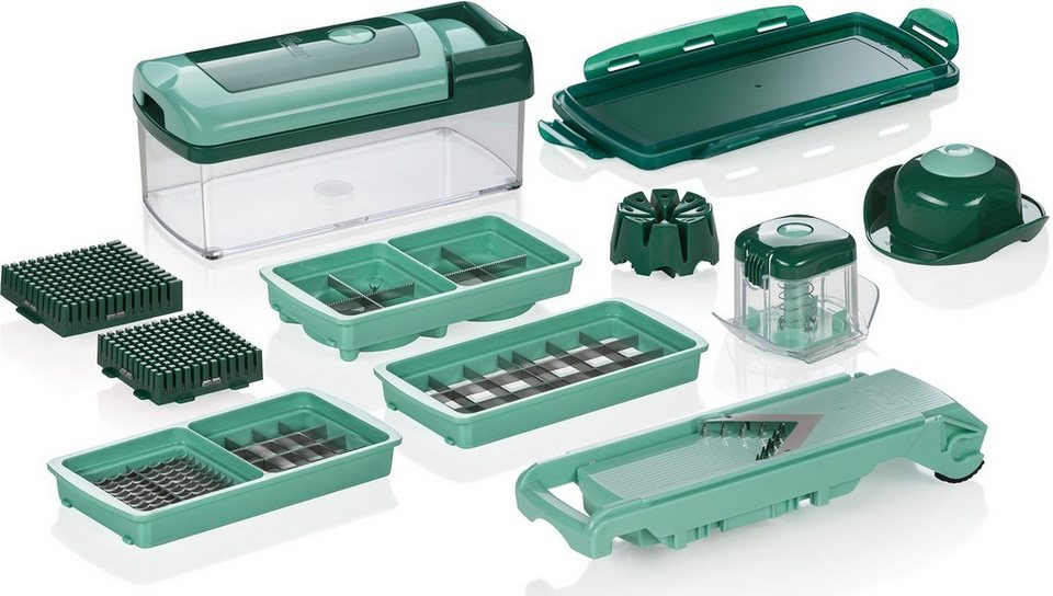 Genius® Nicer Dicer Fusion Smart (13-tlg.) in grün