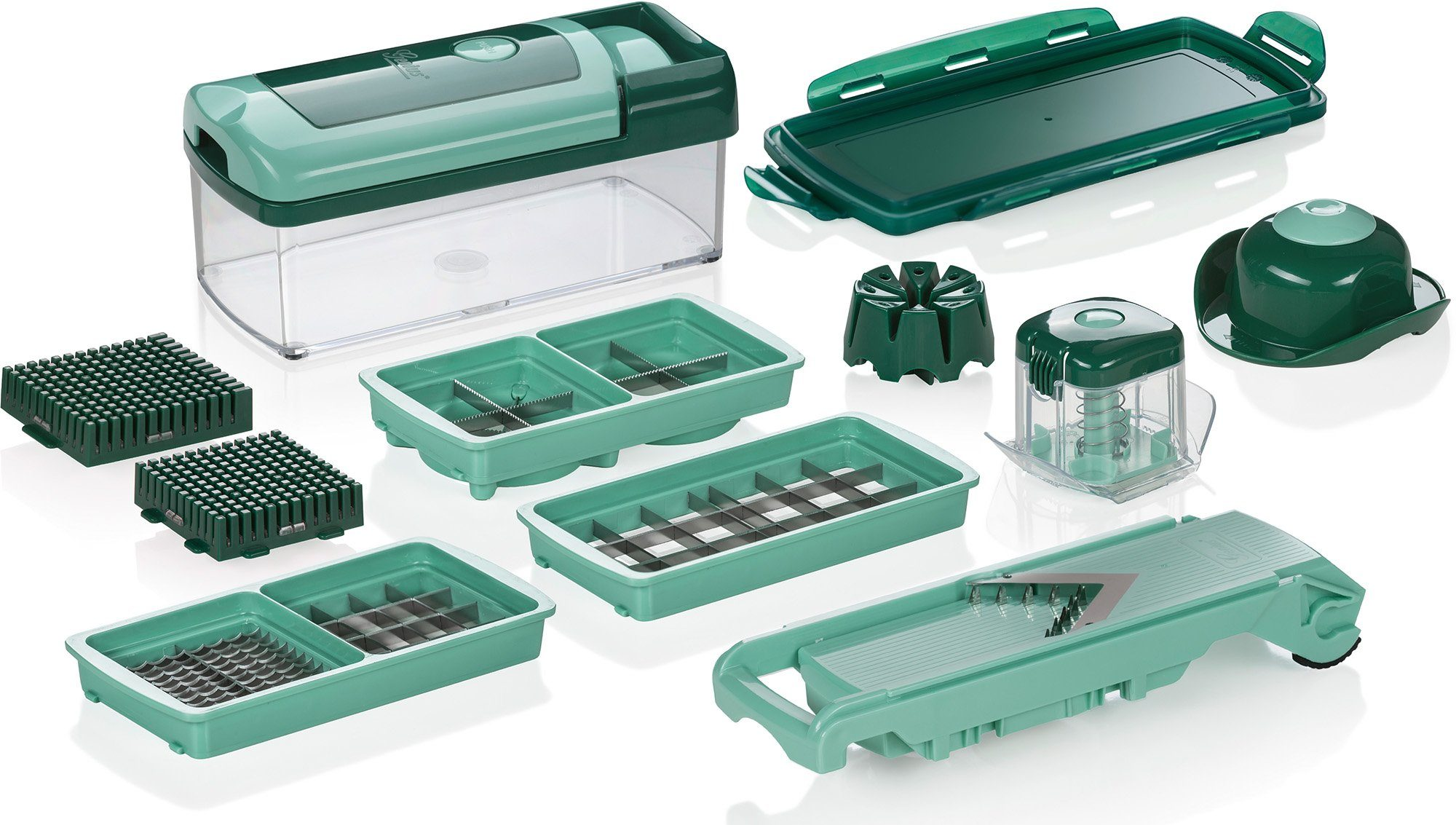 Genius® Nicer Dicer Fusion Smart (13-tlg.), 1250 ml, 24 x 11,6 x 7,5 cm