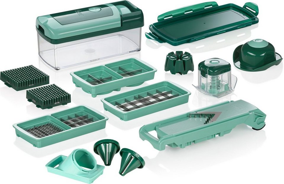 genius nicer dicer fusion smart 16 tlg inkl julietti smart spiralschneider 1250 ml 24 x. Black Bedroom Furniture Sets. Home Design Ideas