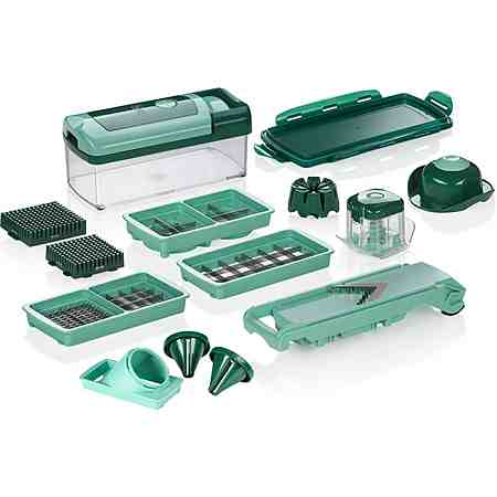 Genius 16-teilig, incl. Nicer Juliettti smart, »NICER DICER FUSION SMART«
