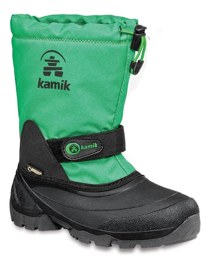Kamik Stiefel »Waterbug5G Winter Boots Kids« in grün
