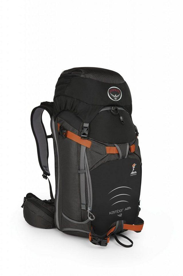 Osprey Sport- und Freizeittasche »Kamber ABS 42 Backpack« in schwarz