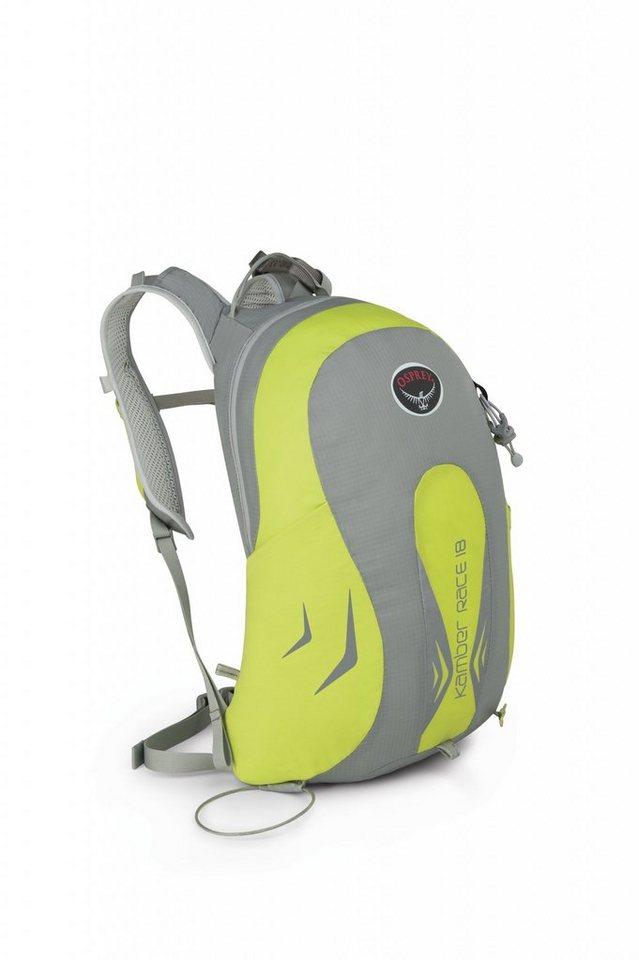 Osprey Sport- und Freizeittasche »Kamber Race 18 Backpack« in grau