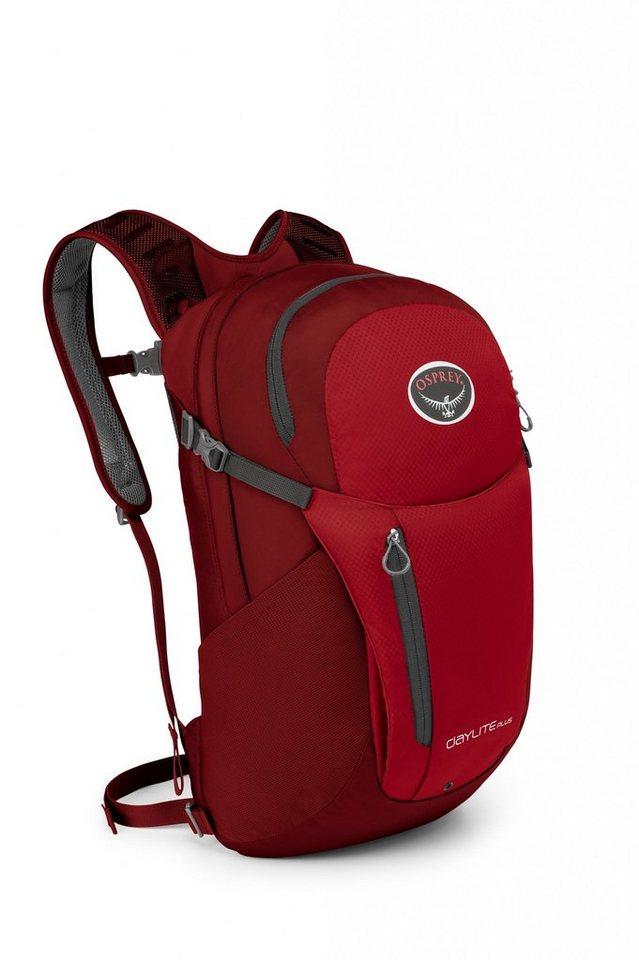 Osprey Sport- und Freizeittasche »Daylite Plus Backpack« in rot