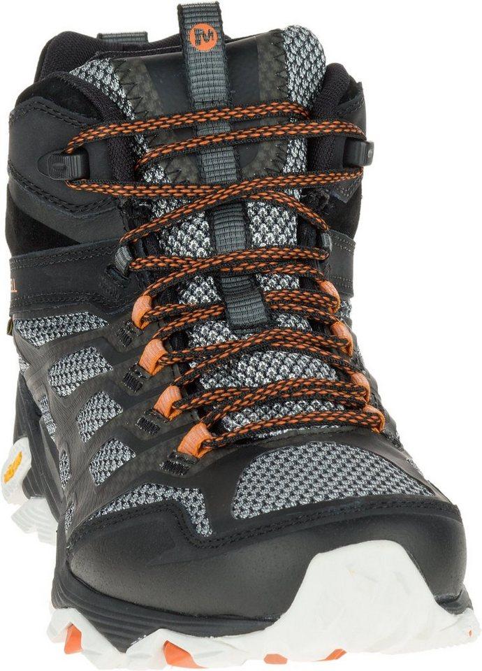 Merrell Kletterschuh »Moab FST Mid Gore-Tex Shoes Men« in schwarz