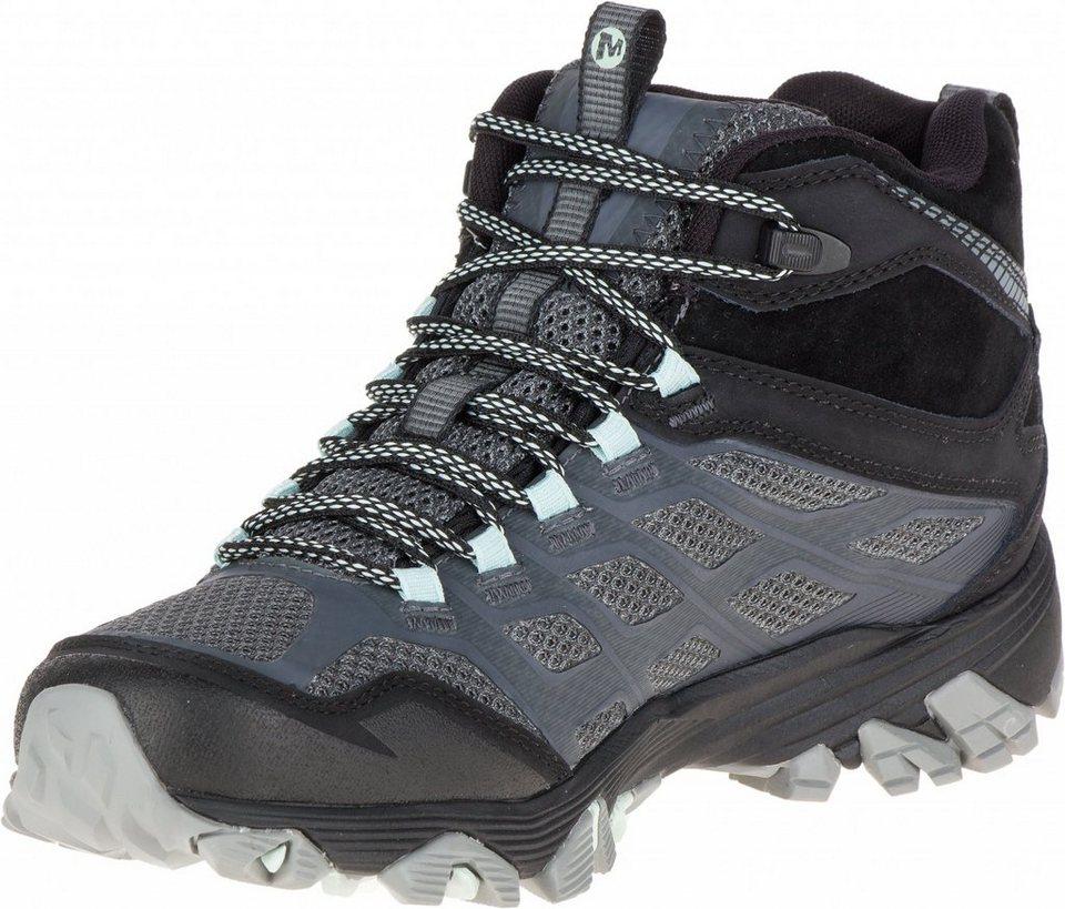 Merrell Kletterschuh »Moab FST Mid Gore-Tex Shoes Women« in grau