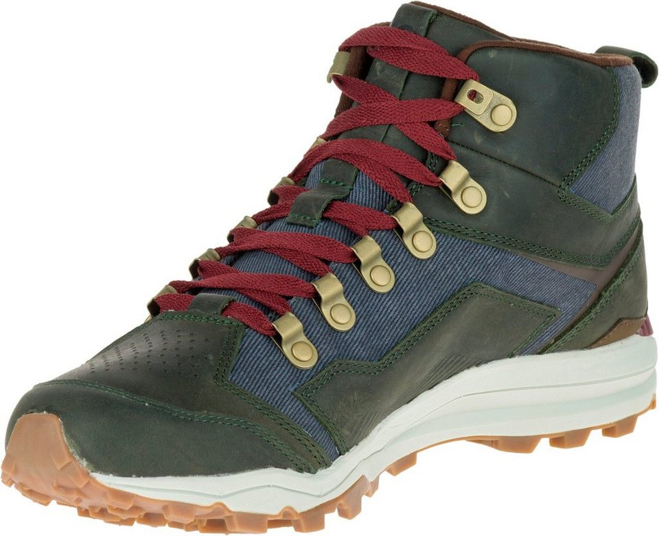 Merrell Kletterschuh »All Out Crusher Mid Shoes Men« in grün