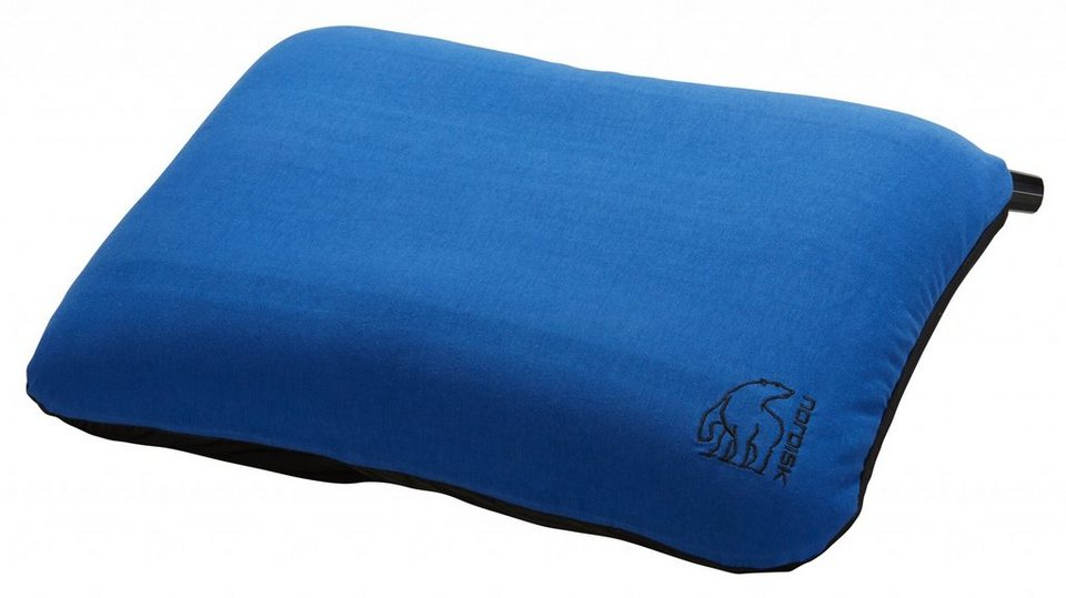 Nordisk Reisekissen »Nat Pillow square« in blau