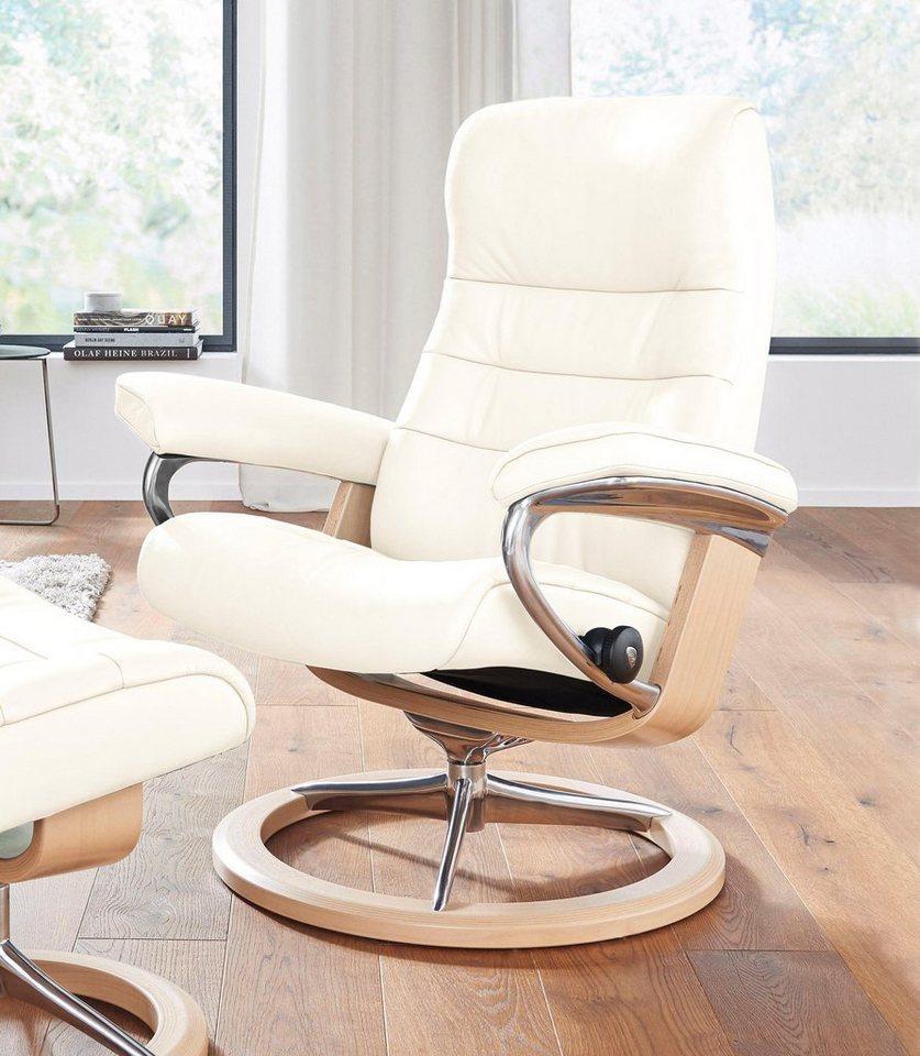 stressless relaxsessel opal mit signature base gr e m. Black Bedroom Furniture Sets. Home Design Ideas