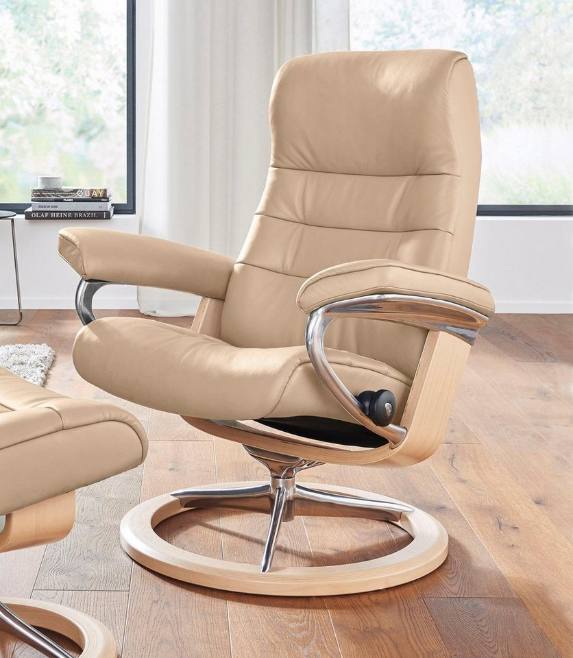 stressless relaxsessel opal mit signature base gr e s. Black Bedroom Furniture Sets. Home Design Ideas