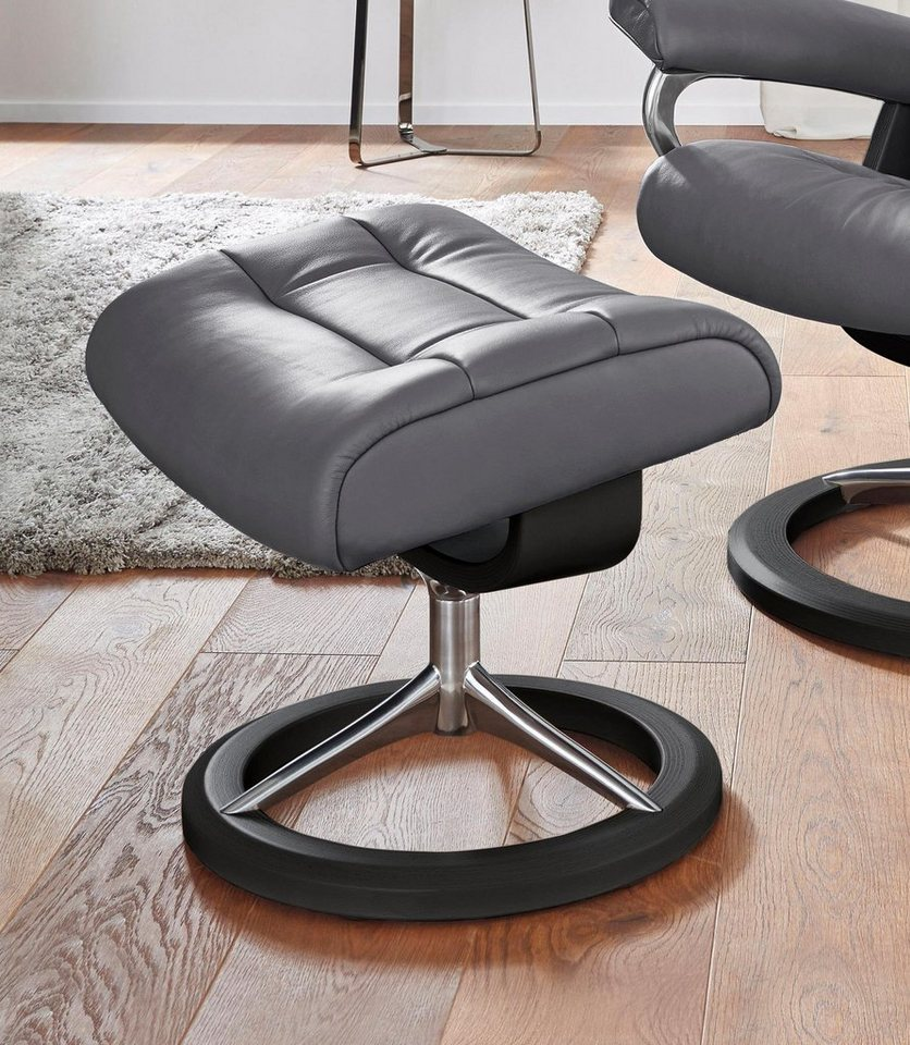 stressless relaxhocker opal mit signature base mit gleitfunktion online kaufen otto. Black Bedroom Furniture Sets. Home Design Ideas