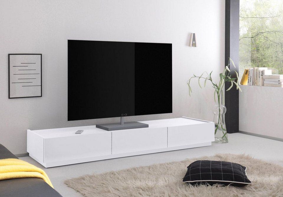 tv lowboard zela mit 3 schubladen breite 184 cm otto. Black Bedroom Furniture Sets. Home Design Ideas