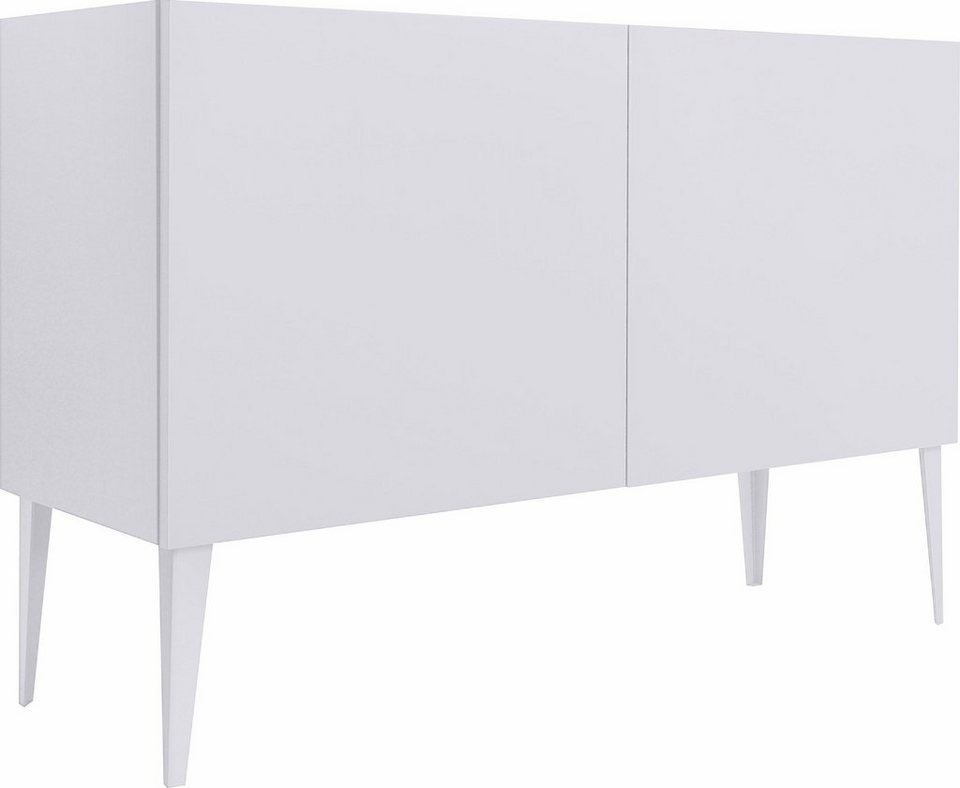 sideboard zela 2 t rig mit f en breite 123 cm online. Black Bedroom Furniture Sets. Home Design Ideas