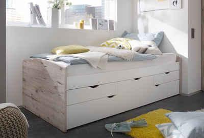 Kinderbett mit bettkasten  Kinderbett in natur online kaufen | OTTO