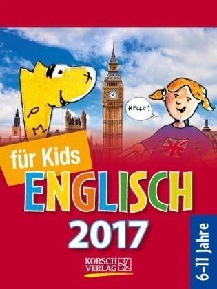 Kalender »Sprachkalender Englisch für Kids 2017...«