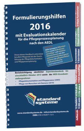 Broschiertes Buch »Formulierungshilfen 2016 für die...«