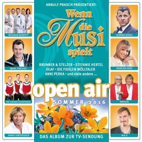 Audio CD »Various: Wenn Die Musi Spielt-Sommer Open Air...«