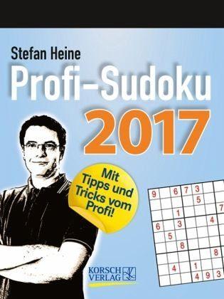 Kalender »Profi Sudoku 2017 Tages-Abreisskalender«