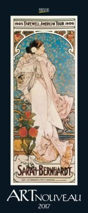 Kalender »Art Nouveau 2017. Kunst Vertikal Kalender«