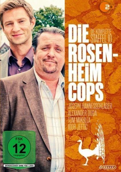 DVD »Die Rosenheim-Cops - Die komplette Staffel 10...«