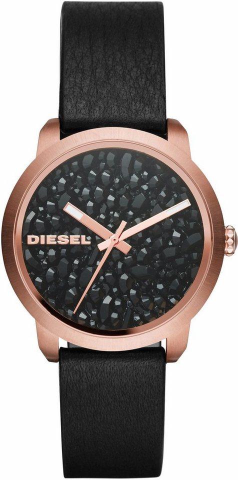 Diesel Quarzuhr »FLARE, DZ5520« in schwarz