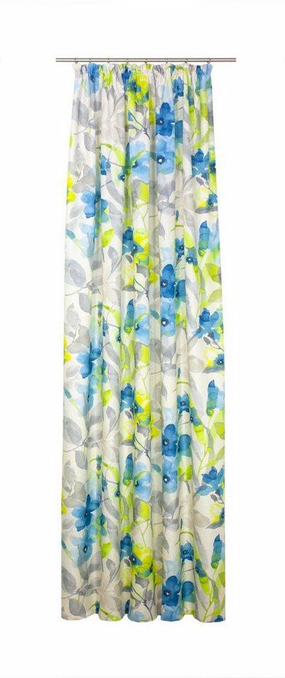 Vorhang, WIRTH, »VIGNOLA« (1 Stück) in blau