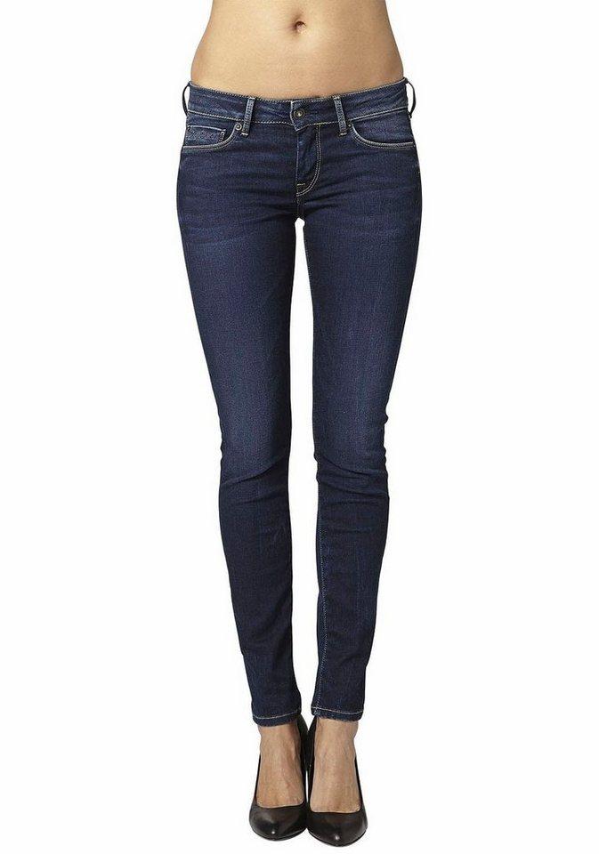 Pepe Jeans Slim-fit-Jeans »SOHO« mit Stretch in dark-used-worn