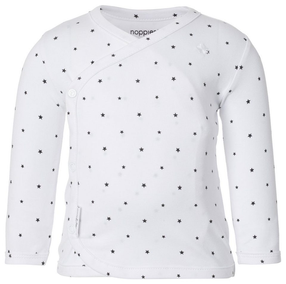 NOPPIES Langarmshirt »Anne« in White