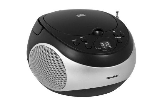 "Karcher »RR 5020-B ""Cobold""« CD-Player (2 W)"