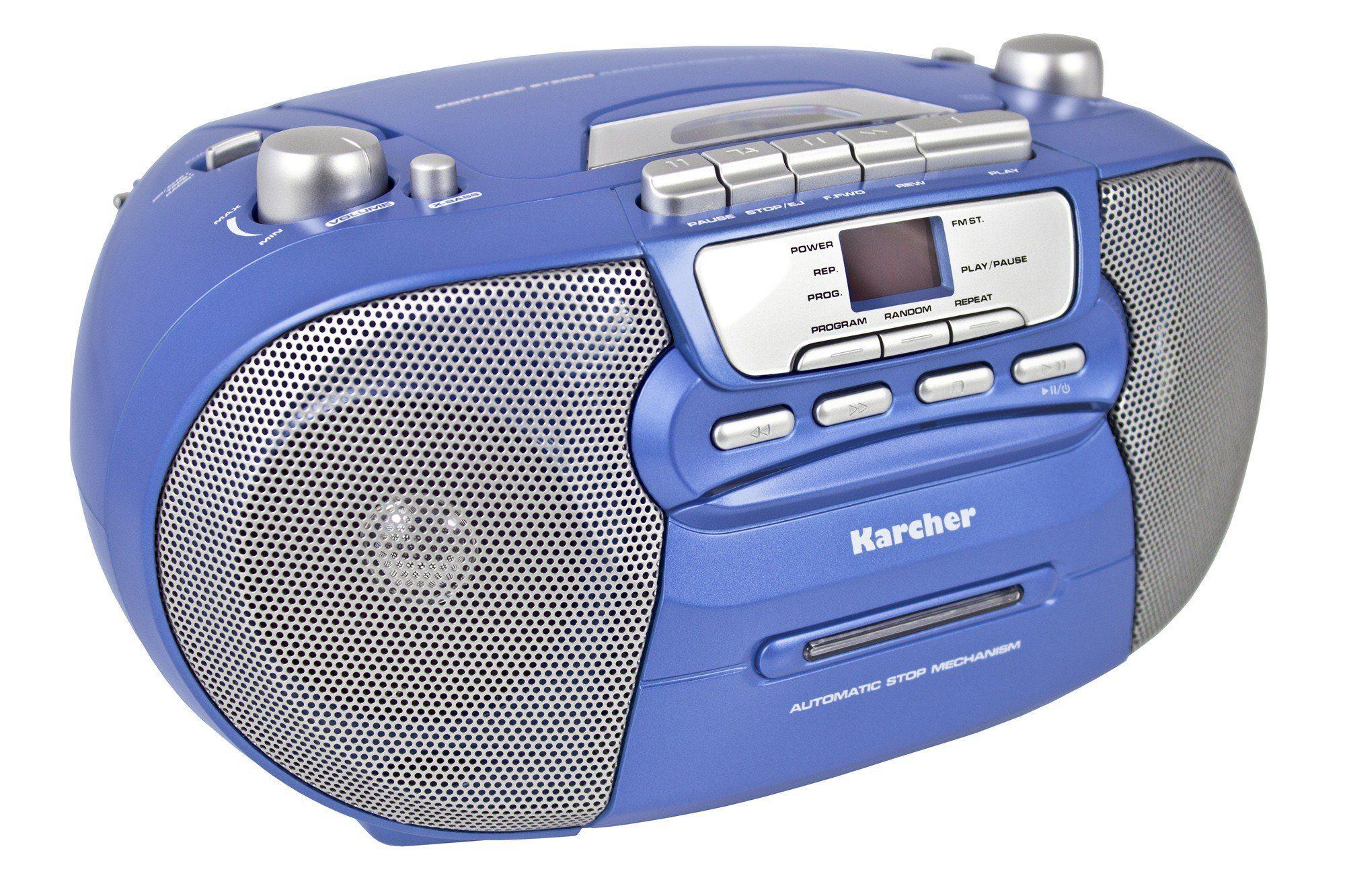"Karcher tragbare Stereo Boombox »RR 5040-C ""Oberon""«"