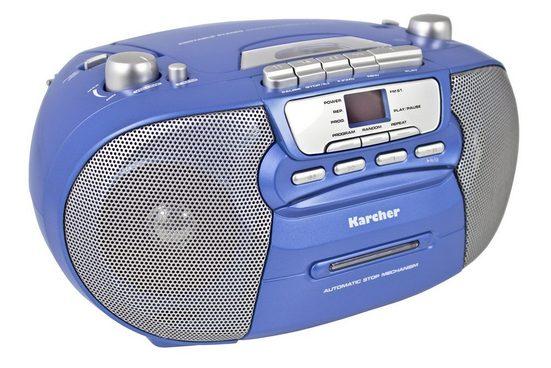 """Karcher »RR 5040-C """"Oberon""""« Boombox (AM-Tuner, FM-Tuner)"""