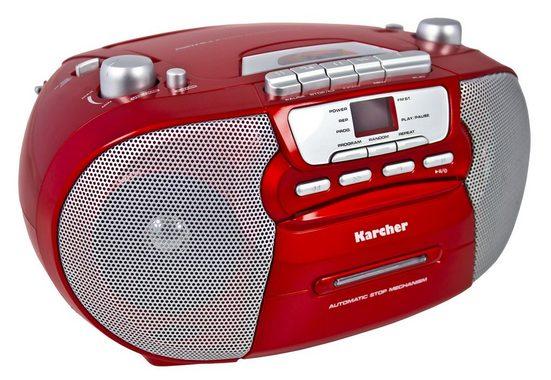 "Karcher tragbare Stereo Boombox »RR 5040-R ""Oberon""«"