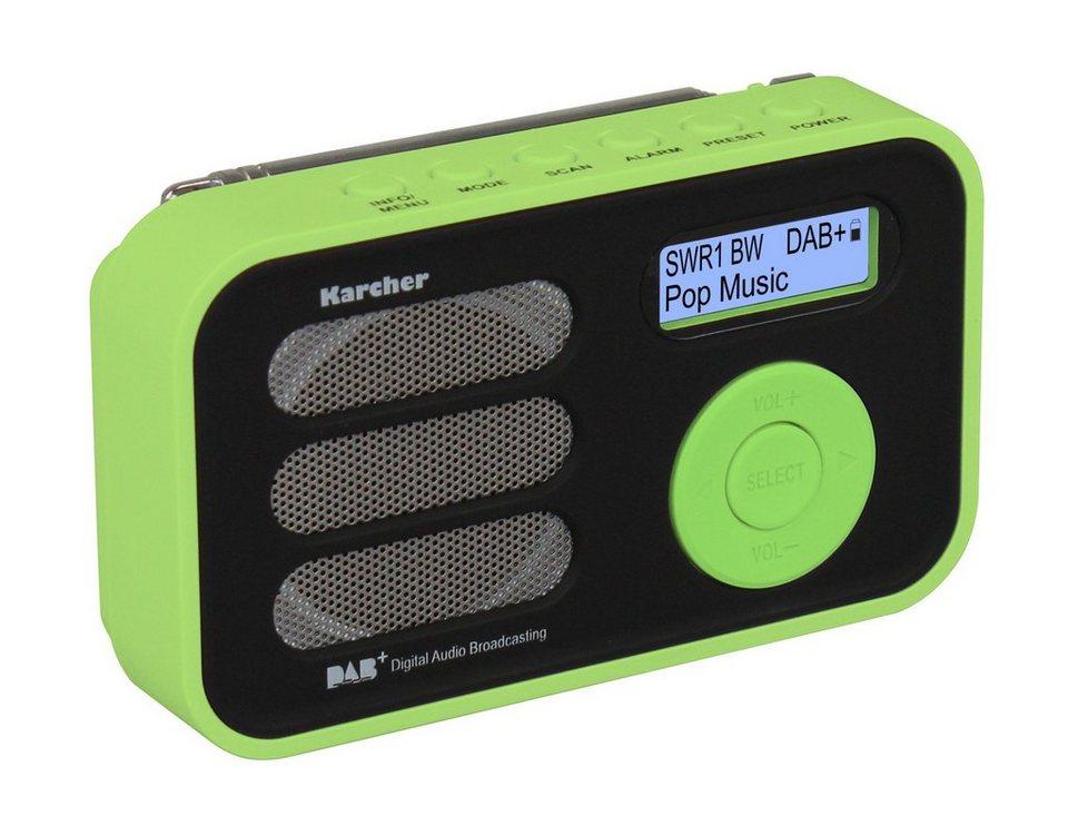 Karcher tragbares Digitalradio »DAB 2410-G« in Grün