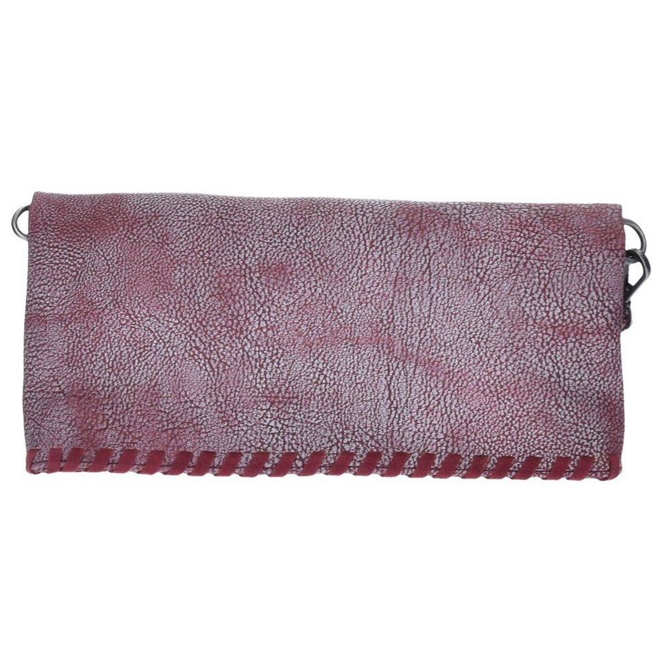 Fritzi aus Preußen Ronja Loop 2D Clutch Umhängetasche 30 cm in inka red