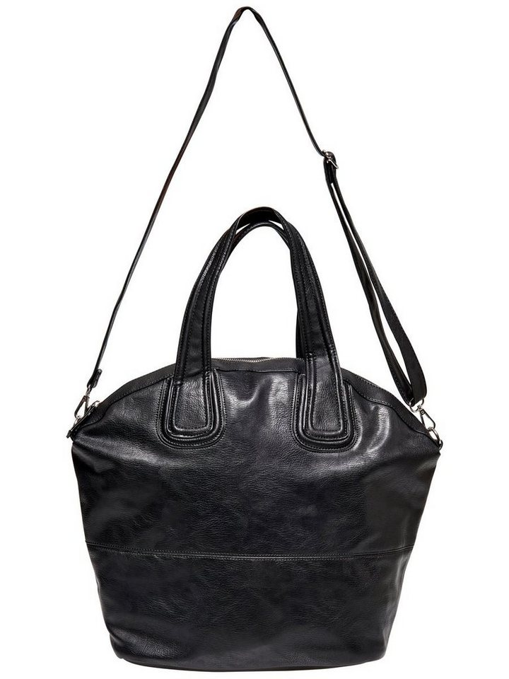 Only Lederlook- Tasche in Black