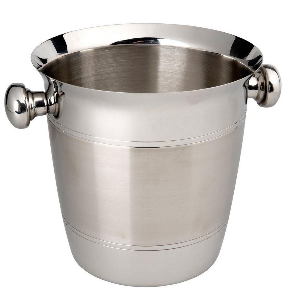 BUTLERS CHAMPAGNE »Flaschenkühler« in Silber