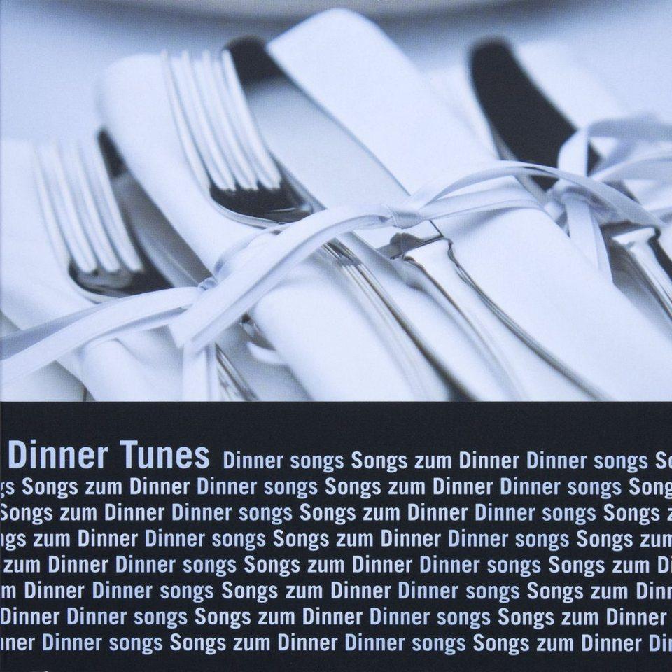 BUTLERS DINNER TUNES CD »Songs zum Dinner« in Silber