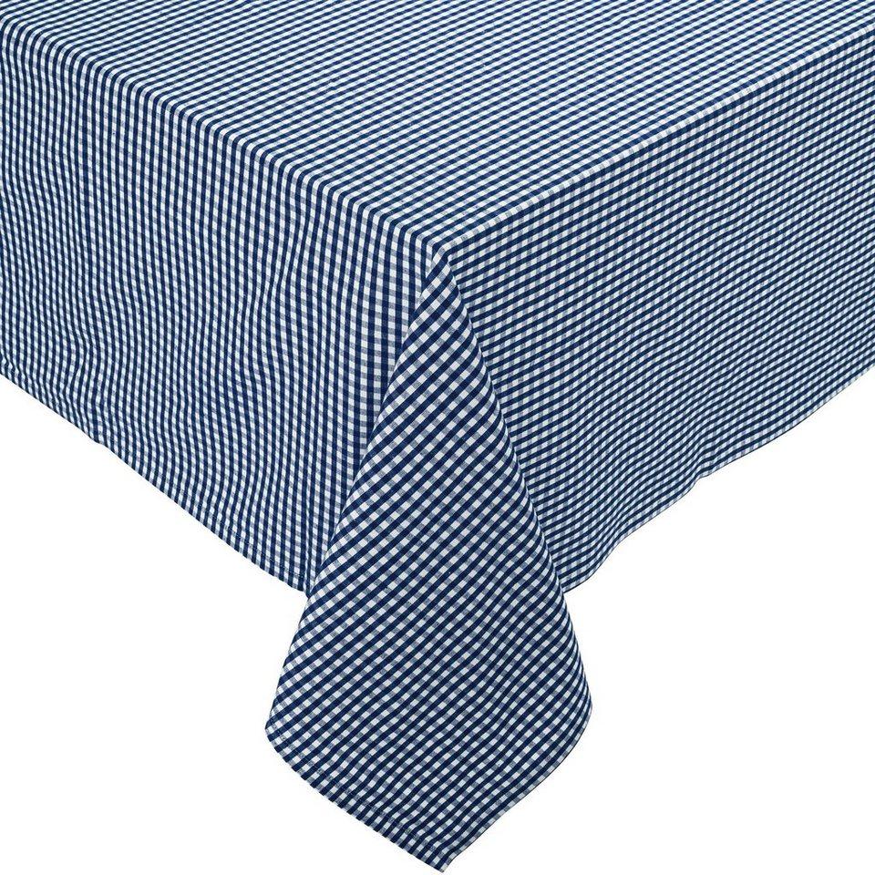 BUTLERS VICHY »Tischdecke« in blau