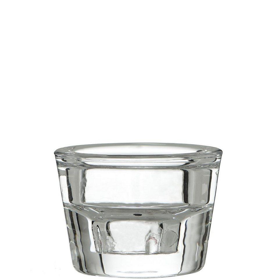 BUTLERS DELIGHT »Teelicht- und Kerzenhalter« in transparent